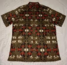 vtg royal prestige mens shirt polyester