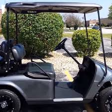 ezgo txt golf cart top canopy black