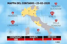 In Lombardia aumentano i contagi per il coronavirus. La sera ...