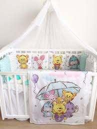 winnie the pooh crib bedding set boy