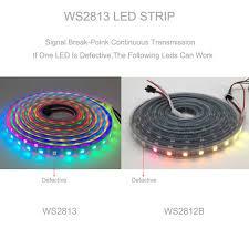 WS2813(WS2812B Cập Nhật) riêng Lẻ Addressable Đèn Led Pixel Dây Kép Tín  Hiệu 30/60/144 Đèn Led/M IP30/IP65/IP67 DC5V 