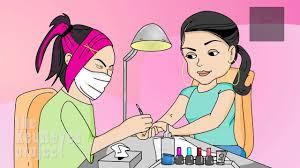 anjelah johnson nail salon animated