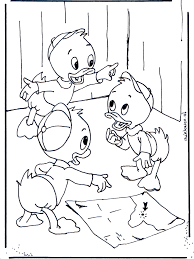 Kwik Kwek En Kwak 2 Donald Duck Kleurplaten