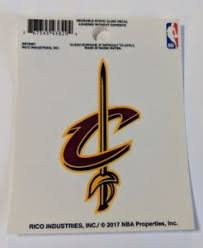 Cleveland Cavaliers 3 X 4 Small Static Cling Truck Car Window Decal New Cavs Ebay
