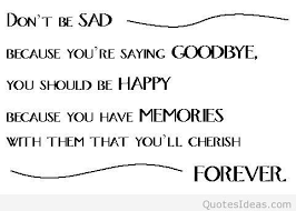 don t be sad quote