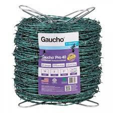 Bekaert Gaucho 15 1 2 Ga High Tensile Barbed Wire 1 320 Roll Utility Wire Fencing Fencing Farm Ranch
