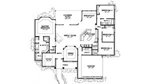 ranch style house plan 4 beds 2 5
