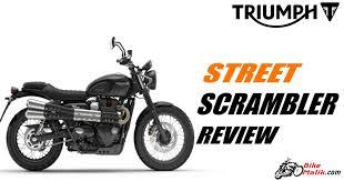 triumph street scrambler review