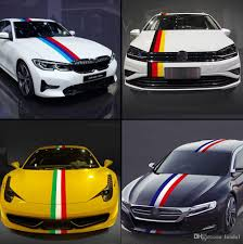 2020 Funny Vinyl Car Stickers Decal Jdm Racing On Car Truck Rear Window Bumper Graffiti Germany Italy Flag Stripe Sticker Body Decal For Bmw From Lunda1 8 82 Dhgate Com