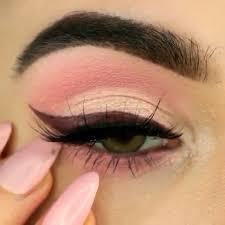 makeup tutorial easy pink eye makeup