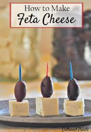 feta cheese recipe how to make feta