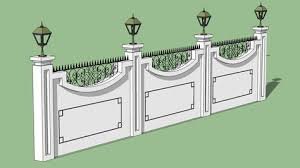 Boundary Wall House Wall Design Compound Wall Design Front Wall Design