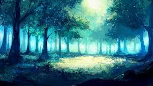 fantasy tree artwork anime wallpaper