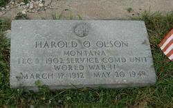 Harold Oliver Olson (1912-1949) - Find A Grave Memorial