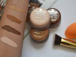 essence soft touch mousse foundation review