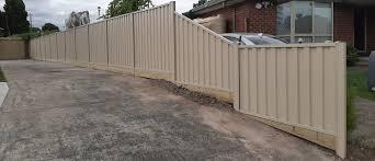 Colorbond Fence Melbourne Rossca
