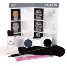 character makeup kit skeleton