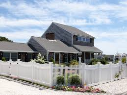 Vinyl Spaced Baluster Fence Cape Cod Cape Cod Cape Cod House Fence