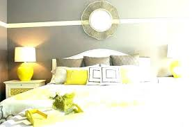 likable gray white and green bedroom