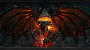 hd wallpaper red and black dragon