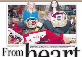 gift baskets to aid victims