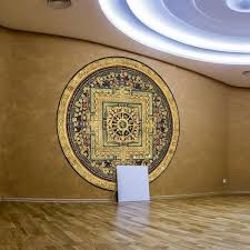 Shop Mandala Color Wall Decal Sticker An 14 Frst Size 40 X40 Multicolor Overstock 20674479