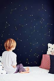 Constellation Wall Decal Zodiac Astronomy Stickers Gold Etsy Outer Space Nursery Kids Bedroom Decor Constellation Wall Decal