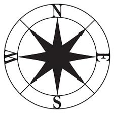 Navigational Compass Wall Quotes Wall Art Decal Wallquotes Com