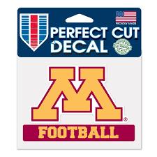 Minnesota Car Decals Minnesota Golden Gophers Bumper Stickers Decals Fanatics
