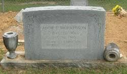 Addie Covington Richardson (1906-1945) - Find A Grave Memorial