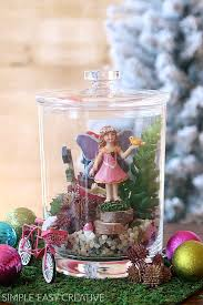miniature fairy garden gift in a jar