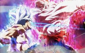 goku vs jiren 4k battle dragon ball
