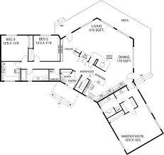 plan 77135ld c shaped floor plan