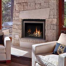 wood gas electric fireplace