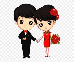 love couple cartoon png