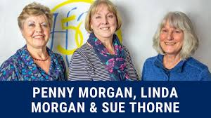 Penny Morgan, Linda Morgan and Sue Thorne's Story - YouTube