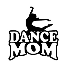 Dance Mom Theatre Vinyl Sticker