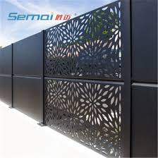 China Decorative Screens Panels Outdoor Metal Privacy Screens Garden Panels Screen Laser Cut Metal Panel China Laser Cutting Fence And Metal Privacy Fence Price