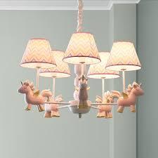 Unicorn Pendant Lamp Princess Room Fly Horse Ceiling Light Kids Bedroom Lighting Ebay