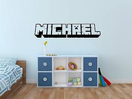 Boys Name Decal Name Wall Decal Childrens Wall Decals Boys Bedroom Decor Personalized Name Handmade Qsmr45cyd