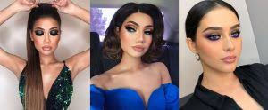 3 makeup looks for a friday night out