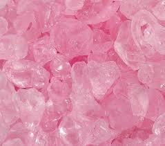 crushed ice pink vase fillers