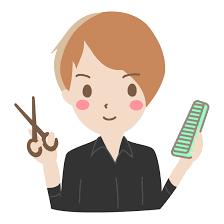若い男性の美容師さんのイラスト | 無料のフリー素材 イラストエイト