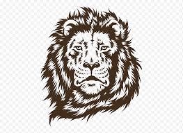 Brown Lion Head Illustration Lion Paper Amazon Com Wall Decal Sticker Lion Face Mammal Face Animals Cat Like Mammal Carnivoran Png Nextpng
