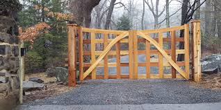 Wood Fence Installations Pa Deer Fencers