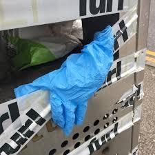 Coronavirus Discarded Disposable Gloves On The Street Bbc News