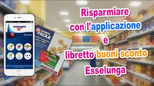 RISPARMIARE con l'APPLICAZIONE e libretto BUONI SCONTO SPESA ...