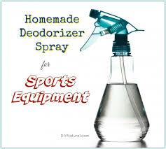 deodorizer spray for sport equipment
