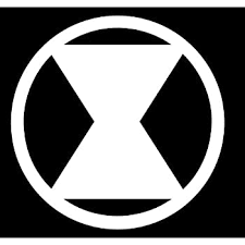 Vinyl Decal Truck Car Sticker Laptop Marvel Comics Avengers Black Widow Symbol