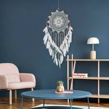Dark Turquoise Handmade Dreamcatcher Medium Kids Bedroom Decor Dream Catcher Toy For Sale Online Ebay